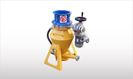 BLOBOY - Pneumatic Conveying System for Dry Premixed Building Materials