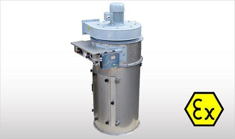 WAMFLO ATEX - Flanged Round Dust Collectors ATEX-certified
